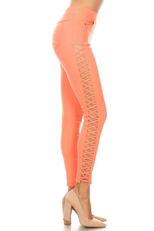 a3e97b4bace65 Premium Quality Comfortable Denim Pants Jeggings-Skinny with straps-Amazing  fit JV3957(12 colors)(S M L)